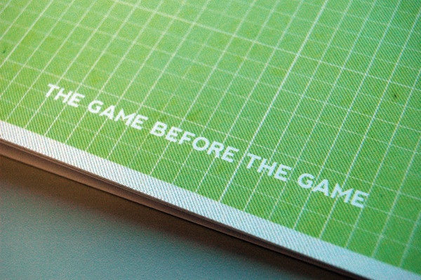 The Game Before The Game by Matthew King, via Behance