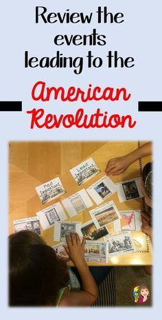 My kids love this American Revolution activity in my US History class. Your students can sequence and sort the events leading to the American Revolution. Is the Boston Massacre the most important? What about The Tea Act? Let your kids decide!