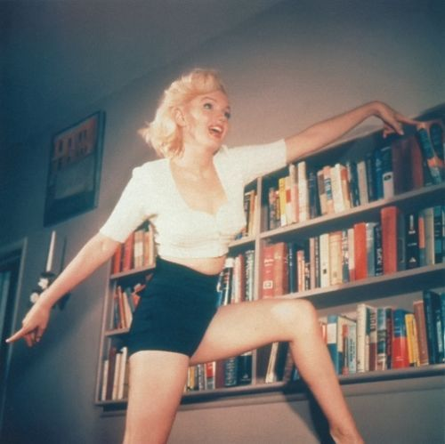 Marilyn Monroe photographed in 1952.