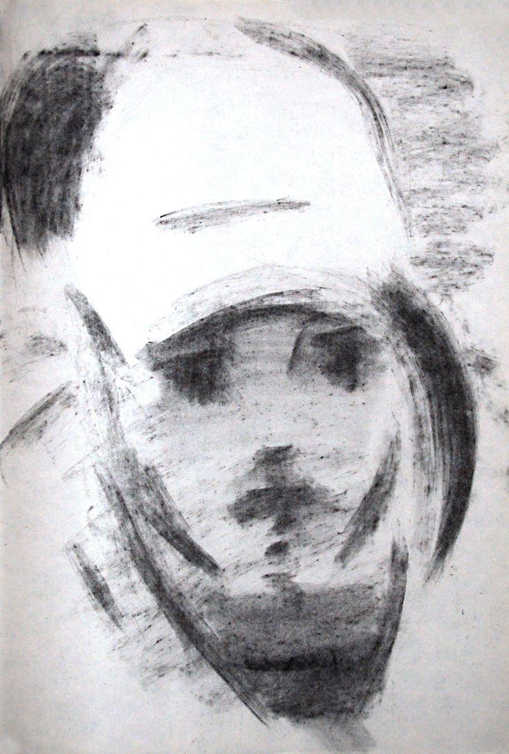 portrait of a girl  coal on paper https://www.facebook.com/media/set/?set=a.205179392996247.1073741830.166050626909124&type=3