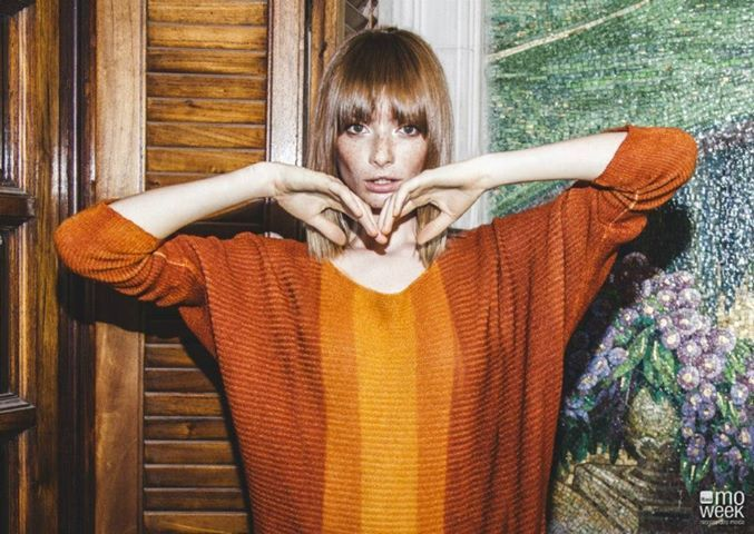 Para Moweek Ana Paula Rondan ginger redhead freckles