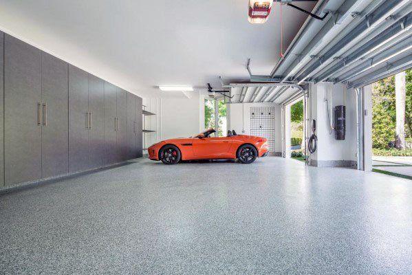 Top 40 Best Garage Ceiling Ideas Automotive Space Interior Designs In 2020 Garage Design Modern Garage Garage Lighting