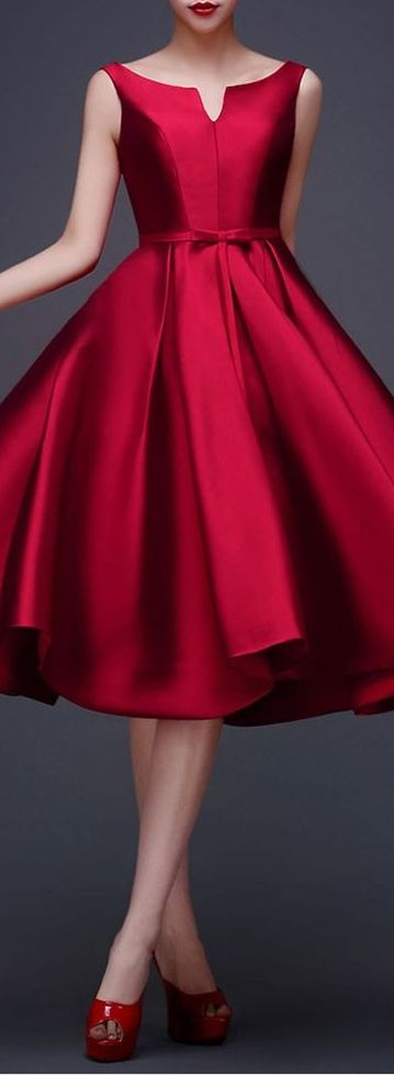 perfect deep red