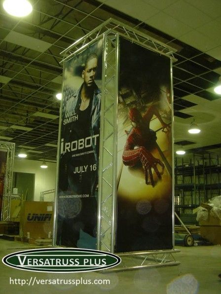 Exhibit Truss Banner Stands  http://versatrussplus.com