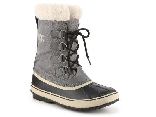 Women's Sorel Winter Carnival Duck Boot - Grey/Black