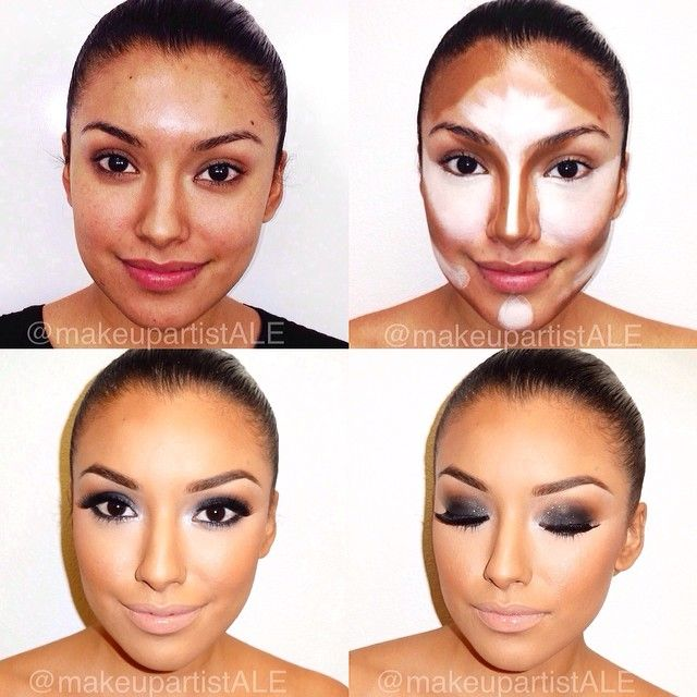 I've been to various events with Pro Celebrity Makeup Artist ✨@makeupartistale and it's proof that she KNOWS what she's doing when it comes to CONTOURING which is the art of Highlighting and Shading. Anything that is lighter than the skin tone will make an area more prominent, anything darker will make that area recede. She Loves doing it using #creamfoundations by @TNT Cosmetics (her favorite) So happy that she gets to travel to different cities and share this wonderful technique with all…