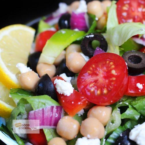 Mediterranean Pasta Salad, the perfect grab 'n' go lunch | Hey Good Cookin'