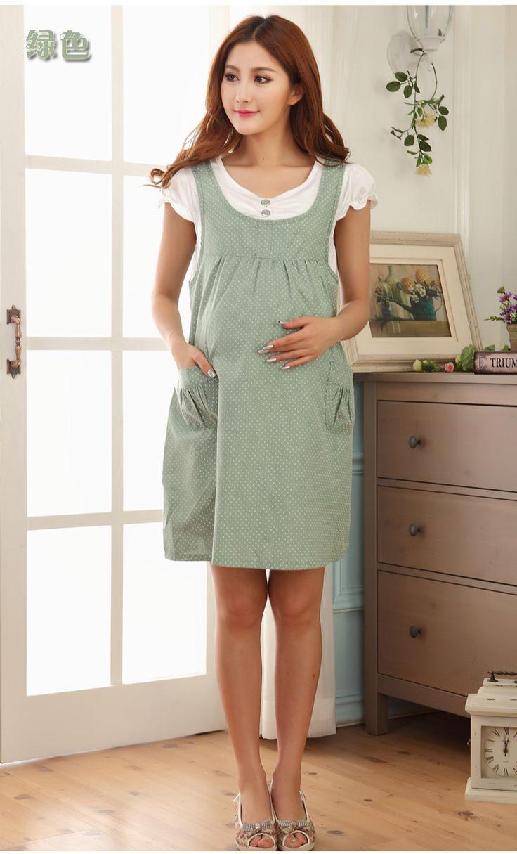 Été vêtements de maternité de maternité mode vestimentaire d'une seule pièce robe faux deux pièces de maternité accolades jupe pour les femmes enceintes BB06 dans Robes de Produits pour bébés sur AliExpress.com | Alibaba Group