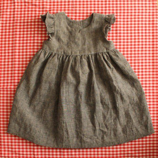 Just add the baby and voila! cuteness all around :). Here is the tutorial for Abby Dress. Geranium Dress Sewing Pattern (Baby Size)