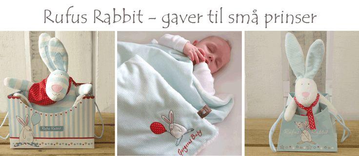 Rufus Rabbit  - Nydelige gaver til små prinser