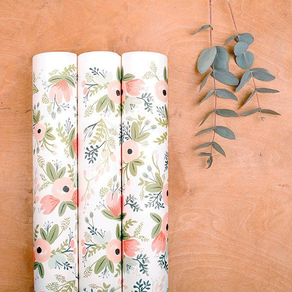 """Rifle Paper Co. """"Wild Flowers"""" Wrapping Paper"""