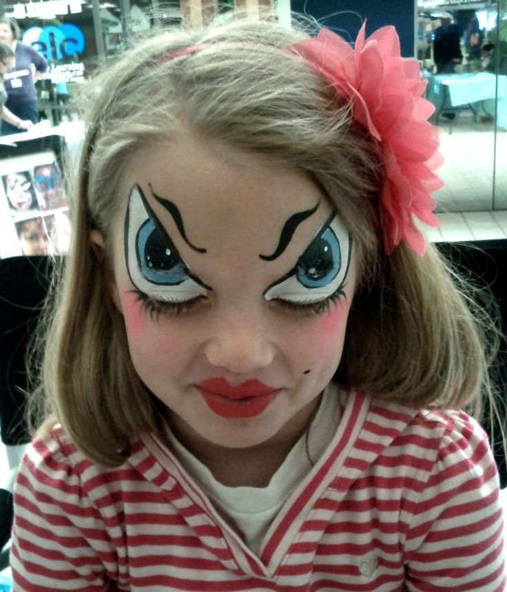 25+ Best Ideas About Halloween Face Paintings On Pinterest | Halloween Face Creepy Makeup And ...