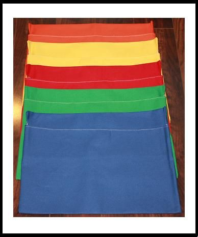 Class Set of Chair Pockets/Chair Covers for your students chairs! Help your Students Get Organized!!!