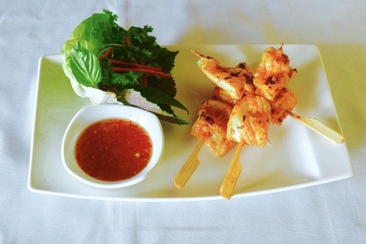 spicy squid skewers