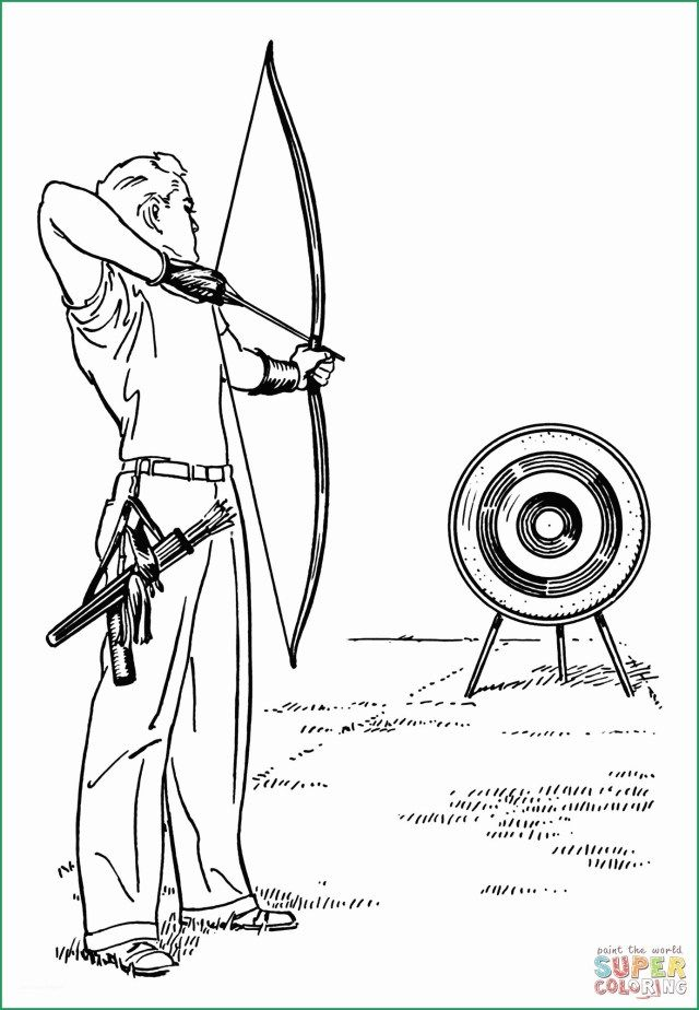 27 Exclusive Image Of Arrow Coloring Pages Archery Tips