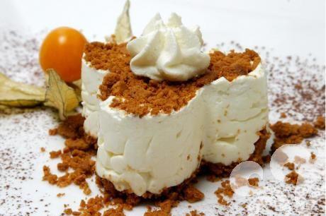 Frusen fromage med pepparkaka | baka.se