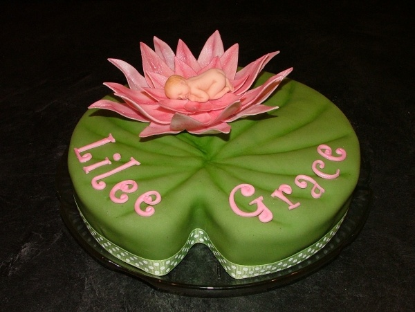 Water lily for princess topper