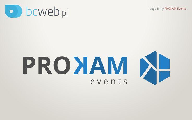 Projekt logo dla PROKAM Events został zaakceptowany. Teraz pracujemy nad szatą graficzną strony. Gotowa realizacja już wkrótce!