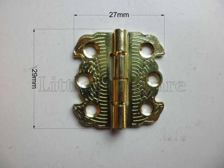 10 Pcs golden color 90 degree butterfly hinges / metal hinges / parliament hinges /  jewelry box hinges / decorative hinges 29mmX27mm VH0054 by LittleHardware on Etsy