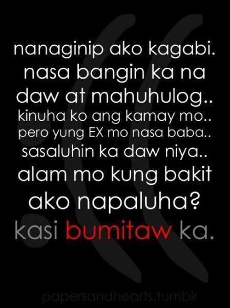 tagalog emo quotes sad love quotes pinoy quotes quotes