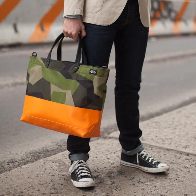 The Swedish Jack Spade M90 Dipped Coal Bag.