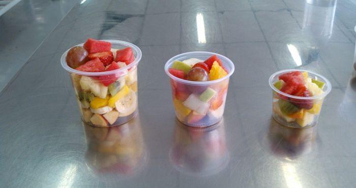 Como vender salada de frutas no pote