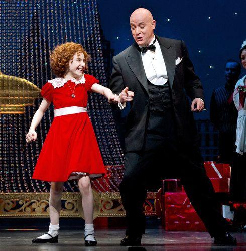 annie Lilla Crawford as Annie on Broadway 2012