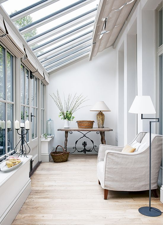 A sun room can make a wonderful addition to a home!