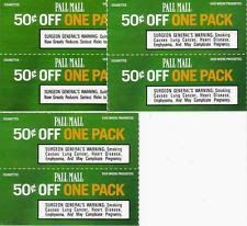 Pall Mall Cigarette Coupons