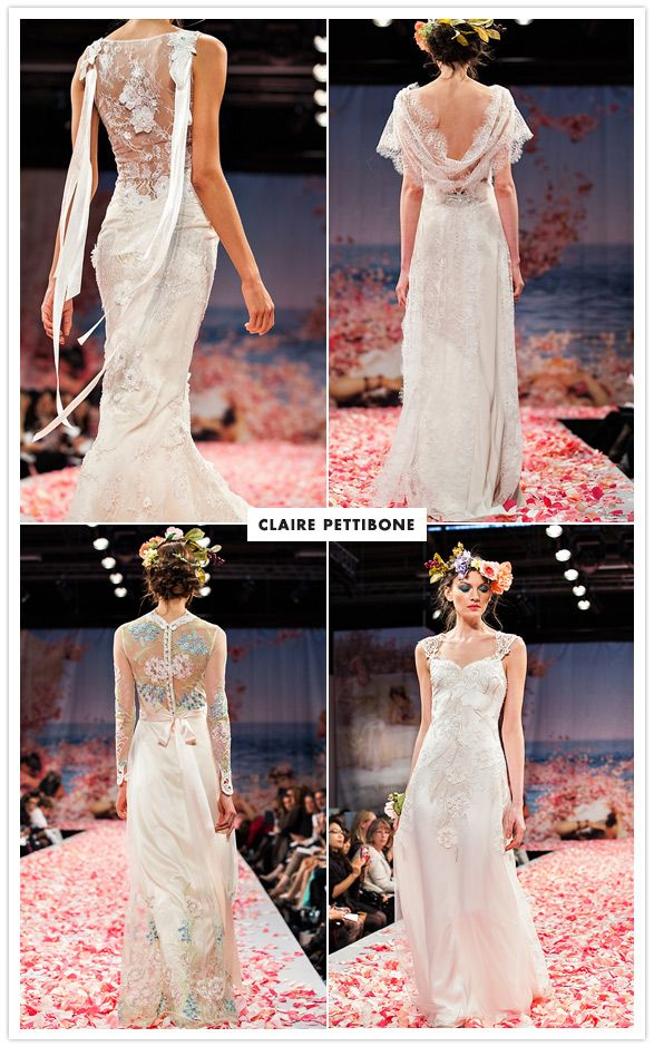 Claire Pettibone Fall 2013 #bridalmarket2013