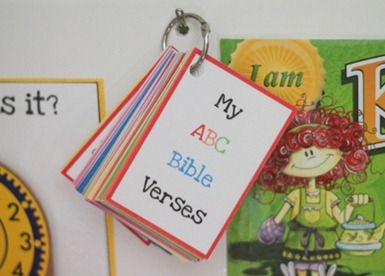 FREE Printable ABC Bible Verse Flashcards