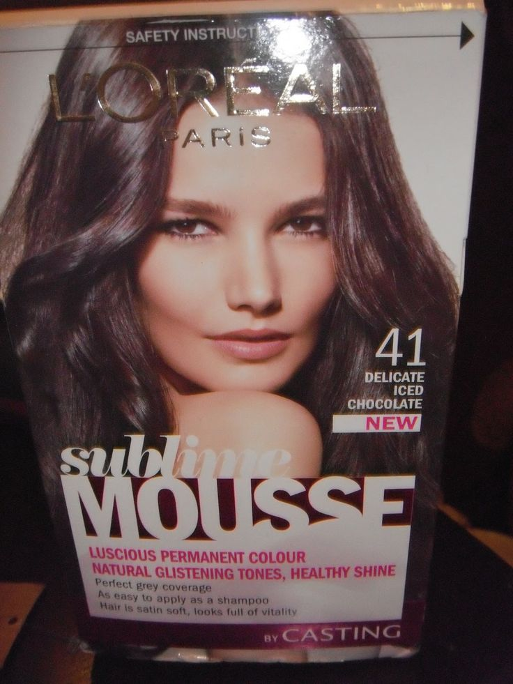 L'oreal Paris Sublime Hair Color Iced Dark Brown- best box color.