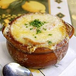Classic French Onion Soup. I can't wait to make this on a snowy winter's night!