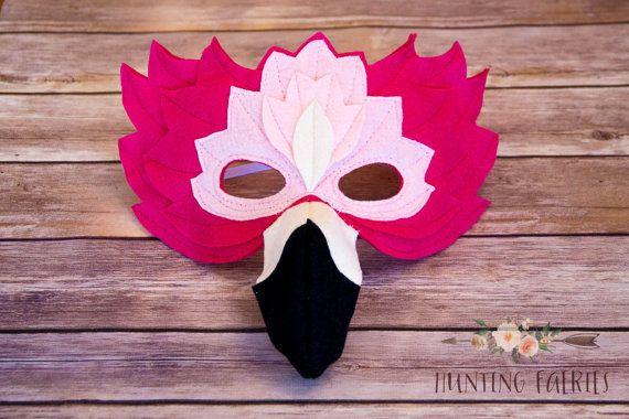 Francesca el traje de máscara de Flamingo para por HuntingFaeries