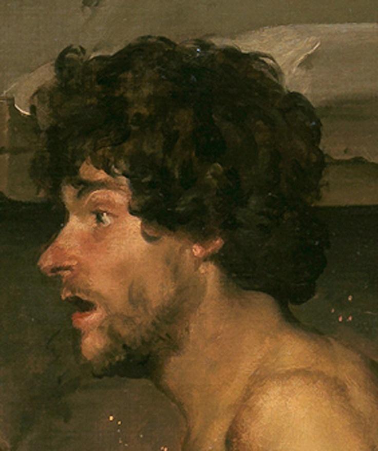 El maromer de 'La fragua de Vulcano'. Diego Velazquez