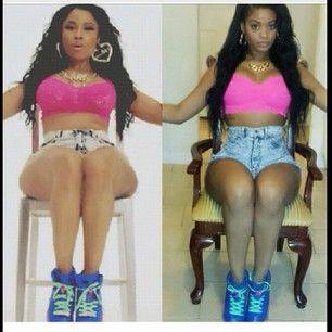 Nicki Minaj | 16 People Whose Pop Diva Halloween Costumes Nailed It In 2014