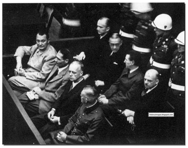 the staging of the nuremberg trials While the nuremberg trials examined war crimes, they also defined  it appears  we are at a similar stage to 1943 when the polish world war ii.