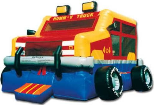 Monster Wheels Bounce House | Inflatable Bounce House Rentals CT