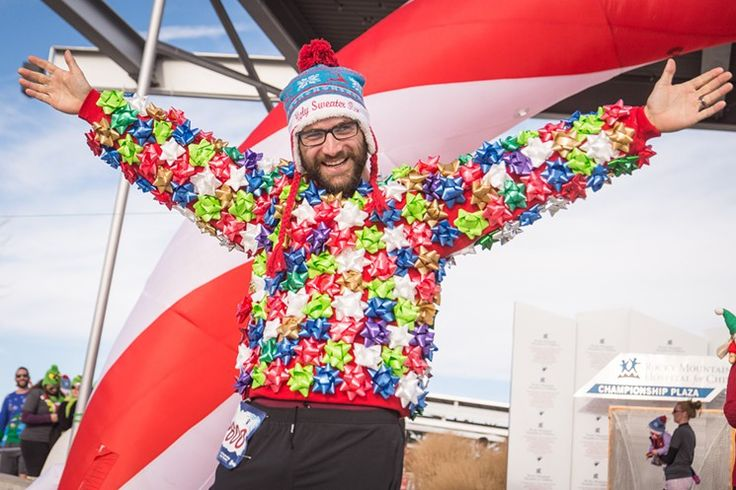 Photos: Horrible Holiday Gear at the Denver Ugly Sweater Run