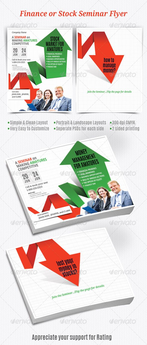 11 best images about 10 Best Corporate Flyers – Seminar Flyer