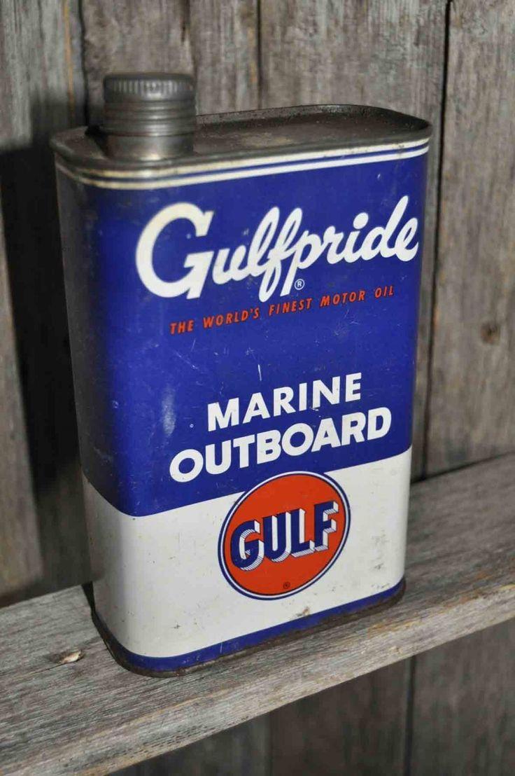 9 best oil gas petroliana images on pinterest motors for Best outboard motor oil