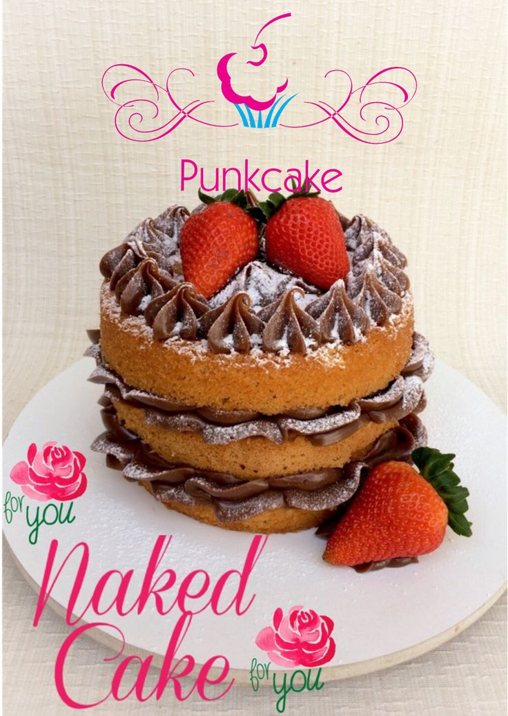 Naked Cake  Punkcake / PunkcakePe