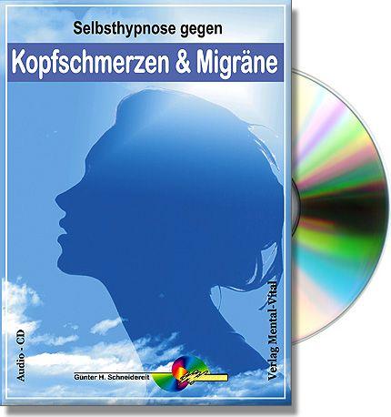 Kopfschmerzen und Migräne lindern mit Meditation. Hypnose als angenehme Selbsthilfe um ganz schnell wieder einen klaren und schmerzfreien Kopf zu bekommen. Erhältlich als CD oder MP3 Download
