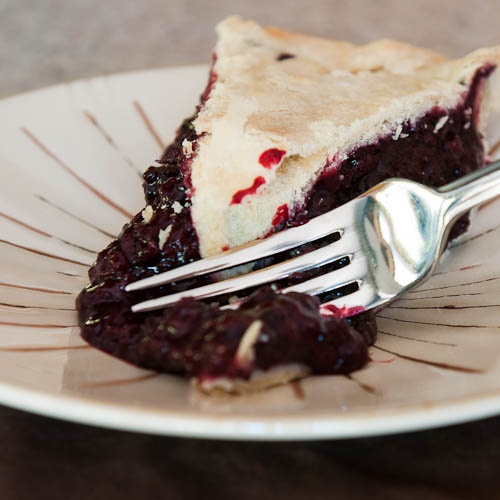 Marionberry Pie.  Delish Oregon treat!