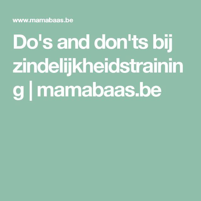 Do's and don'ts bij zindelijkheidstraining | mamabaas.be