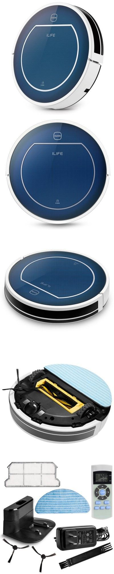 Home Improvement | ILIFE V7 Super Mute Sweeping Robot Home Vacuum Cleaner Dust Cleaning with 2600mAh Li - battery $157.99