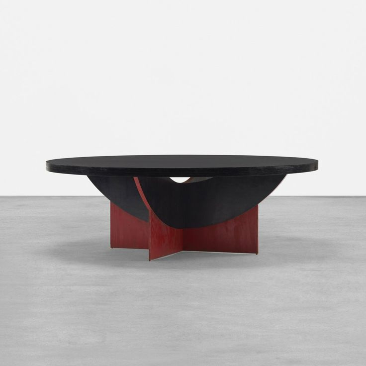 Frank Lloyd Wright; Lacquered Ash Coffee Table For The Luis And Ethel  Marden House,