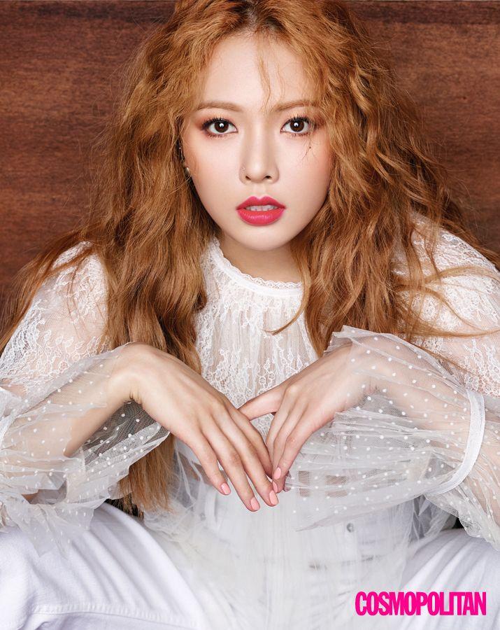 Hyun-Ah on Fire | 코스모폴리탄 (Cosmopolitan Korea)