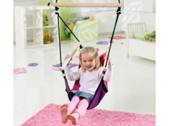 Dětské závěsné křeslo Kids swinger pink - Kliknutím zobrazíte detail obrázku.