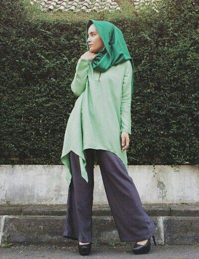 Zahratul Jannah ♥ Muslimah fashion & hijab style